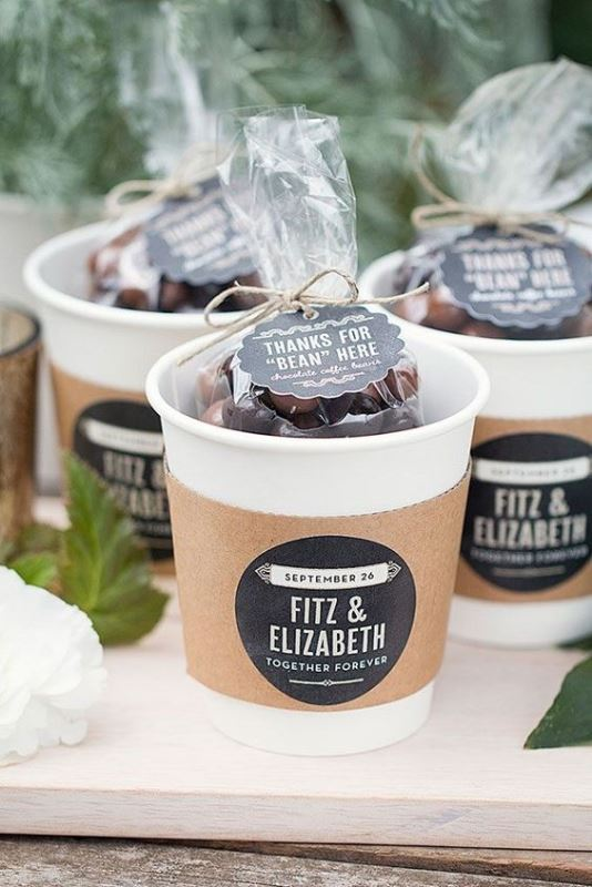 Awesome Coffee Themed Wedding Ideas