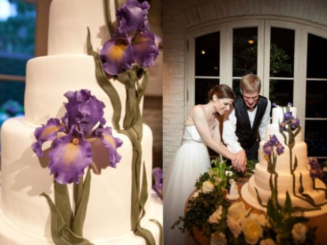 Picture Of Amazing Ideas To Incorporate Irises Into Your Wedding 20