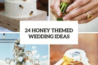 24 Adorable Honey Themed Wedding Ideas 25