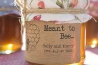 24 Adorable Honey Themed Wedding Ideas 8