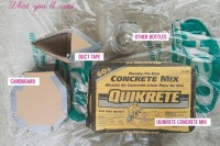 Great DIY Cement Centerpieces For Your Wedding Day 2