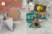Great DIY Cement Centerpieces For Your Wedding Day 3