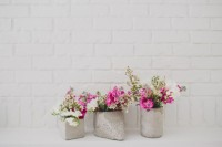 Great DIY Cement Centerpieces For Your Wedding Day 6