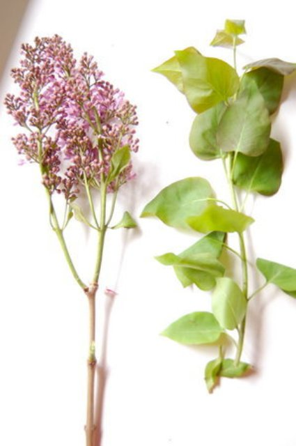 Picture Of Naturally Beautiful DIY Wild Lilac Bouquet For Brides 4