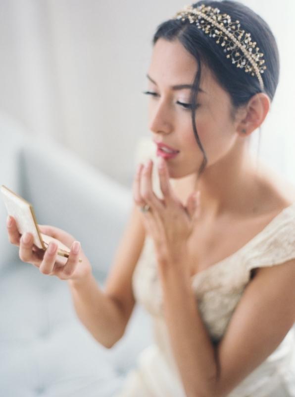 Alluring Vintage Inspired Bridal Fine Art Boudoir Shoot