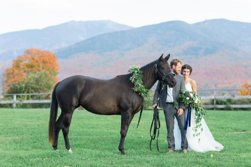 Picture Of amazing national velvet inspired wedding styled shoot  13