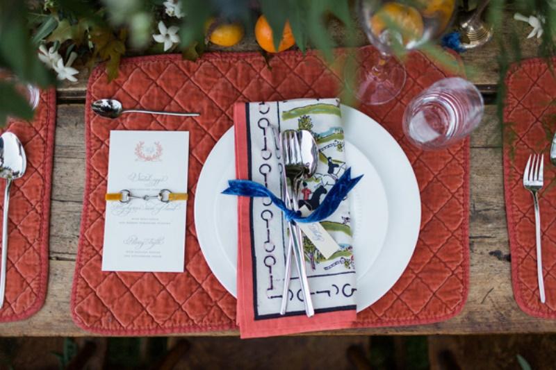 Picture Of amazing national velvet inspired wedding styled shoot  22
