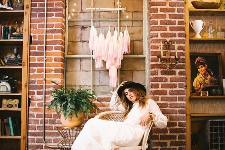 Boho Meets Industrial Wedding Inspiration