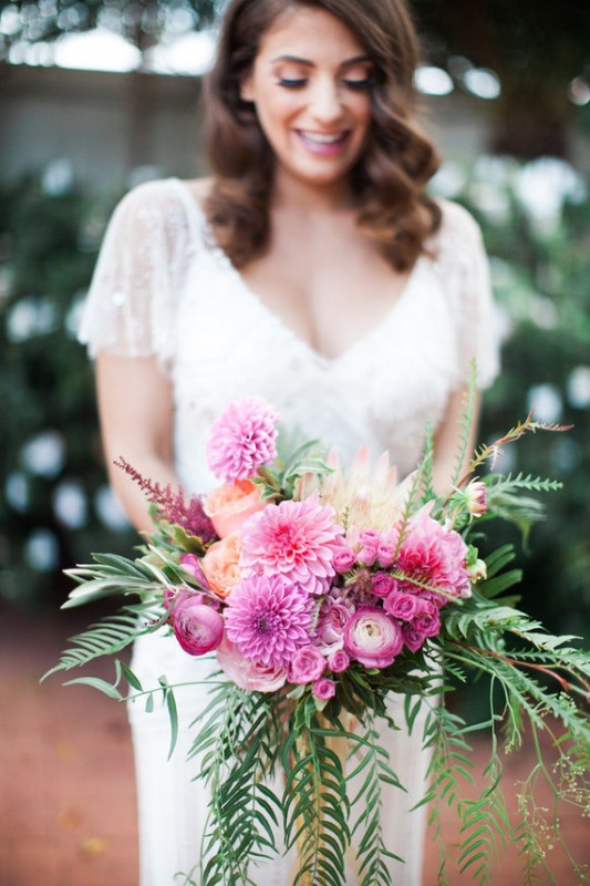 Bright And Cheerful Spring Wedding Elopement