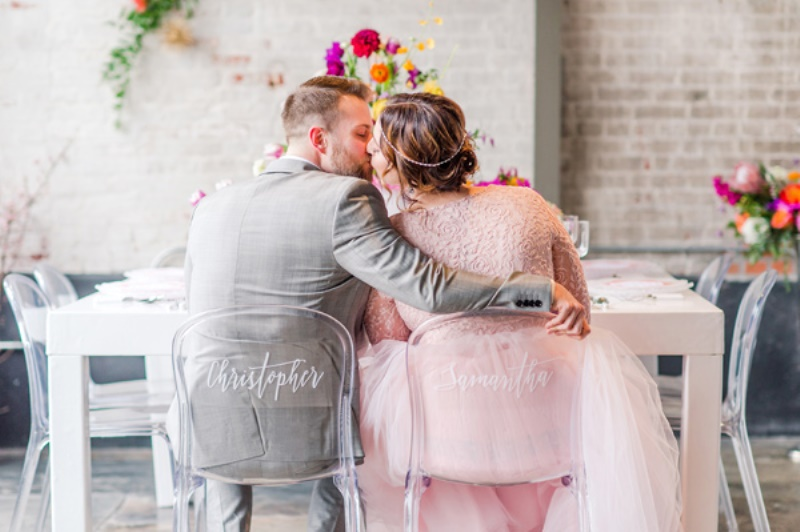 Picture Of bright geometric vow renewal shoot  19