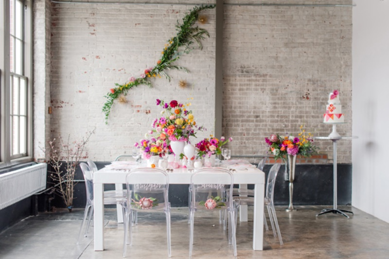 Picture Of bright geometric vow renewal shoot  8