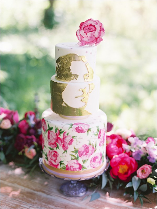 Colorful And Romantic Oscar Wilde Inspired Wedding Shoot