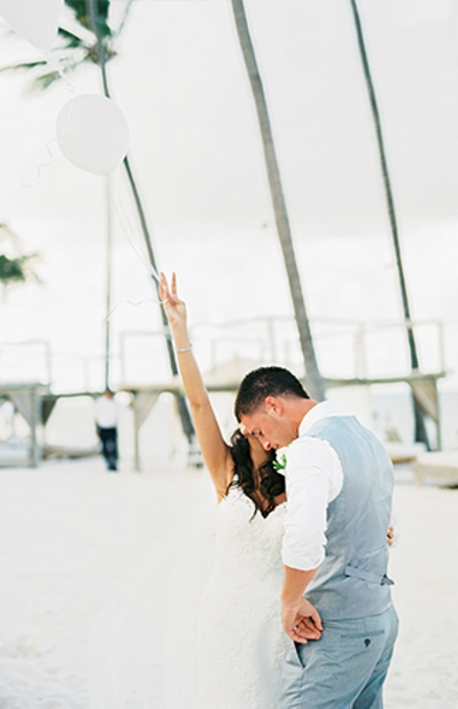 Picture Of dreamy beach punta cana destination wedding  10