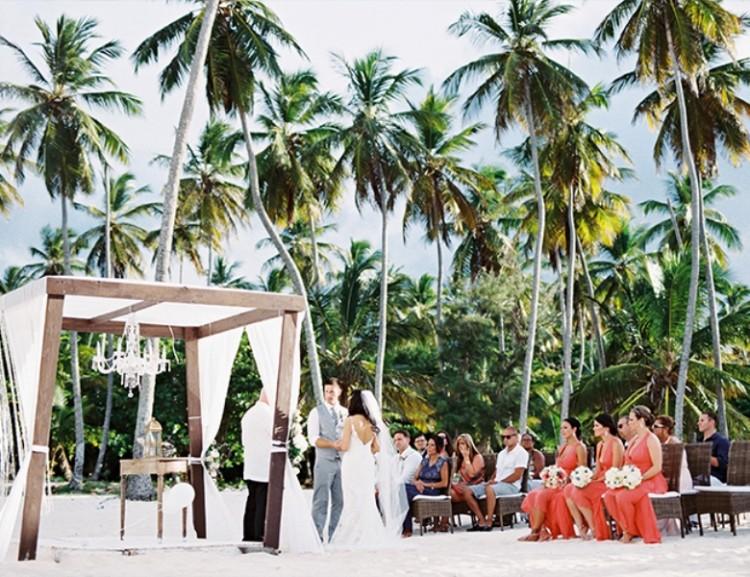 Dreamy Beach Punta Cana Destination Wedding