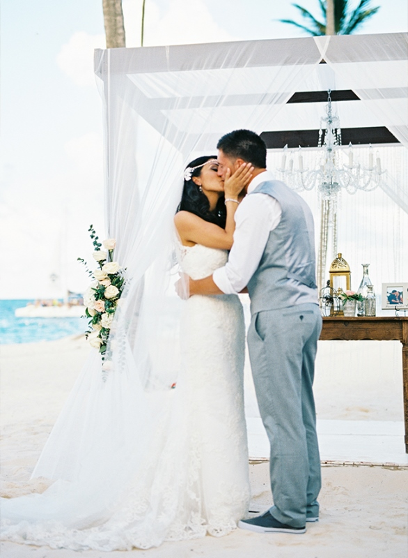 Picture Of dreamy beach punta cana destination wedding  9