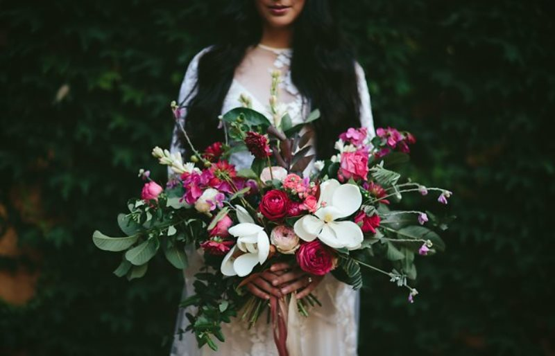 Picture Of ethereal bohemian wedding shoot at the french house  1