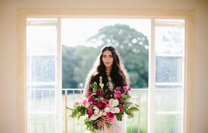 Picture Of ethereal bohemian wedding shoot at the french house  13