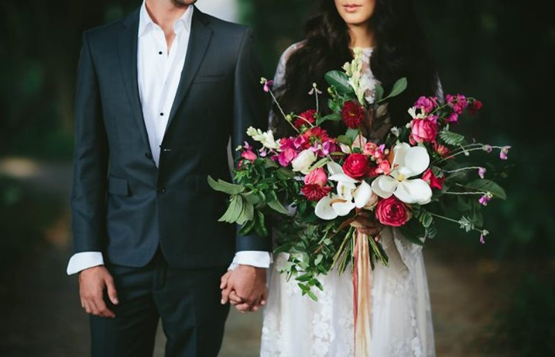 Picture Of ethereal bohemian wedding shoot at the french house  16