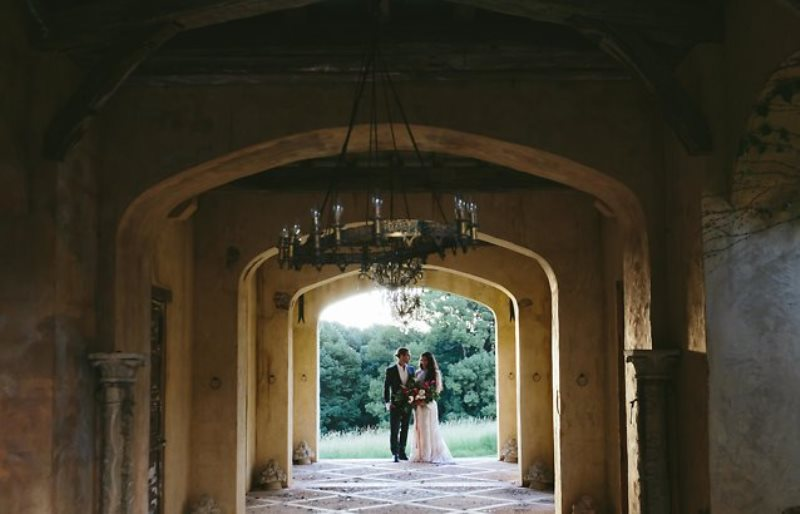 Picture Of ethereal bohemian wedding shoot at the french house  3