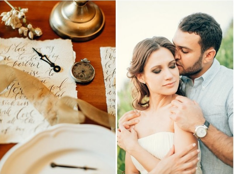 Picture Of gorgeous tuscan hills engagement shoot  11