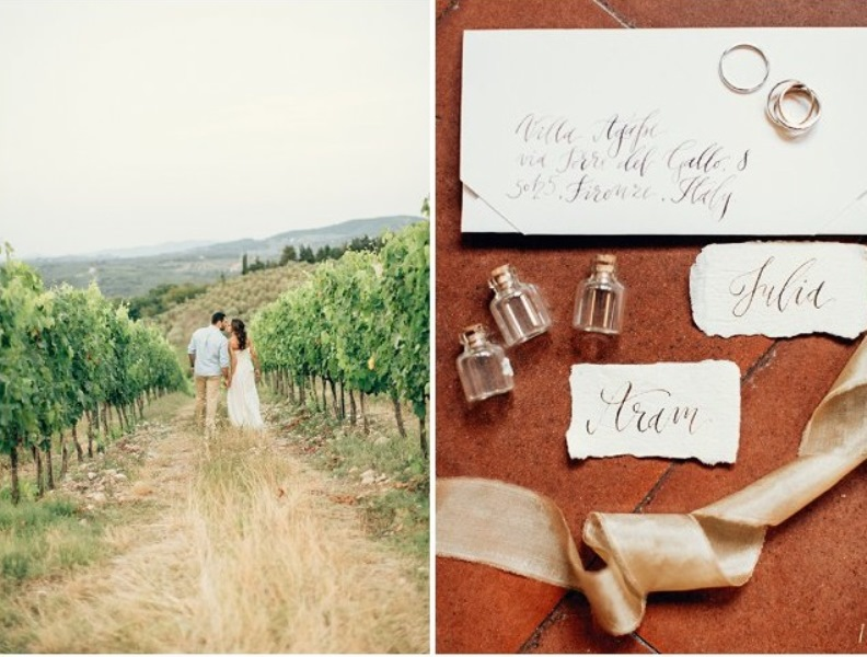 Picture Of gorgeous tuscan hills engagement shoot  12