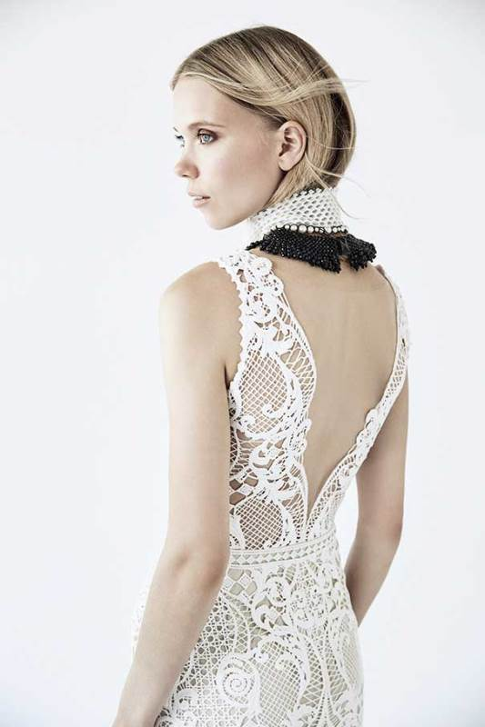 Refined Suzanne Harward 'Neo Victorian' Bridal Dress Collection