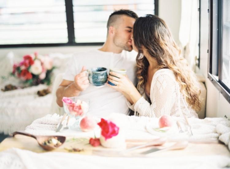 Romantic Low-Key Camping Honeymoon Inspiration