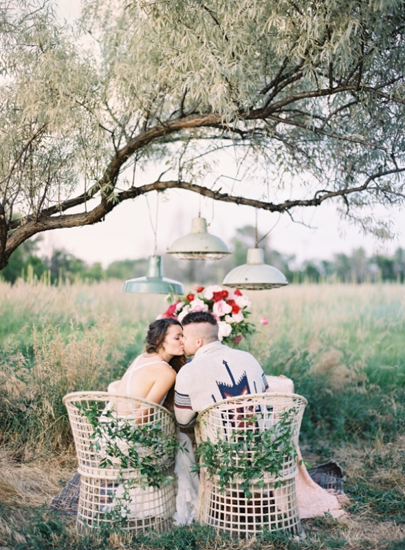 Picture Of romantic low key camping honeymoon inspiration  16