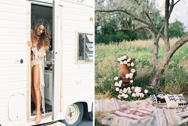 Romantic Low Key Camping Honeymoon Inspiration Weddingomania