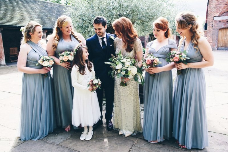 Picture Of rustic glam english country barn wedding  11