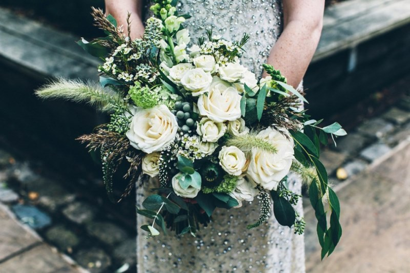 Picture Of rustic glam english country barn wedding  12