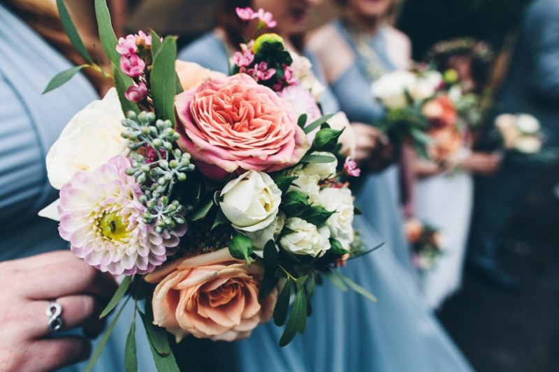 Picture Of rustic glam english country barn wedding  17