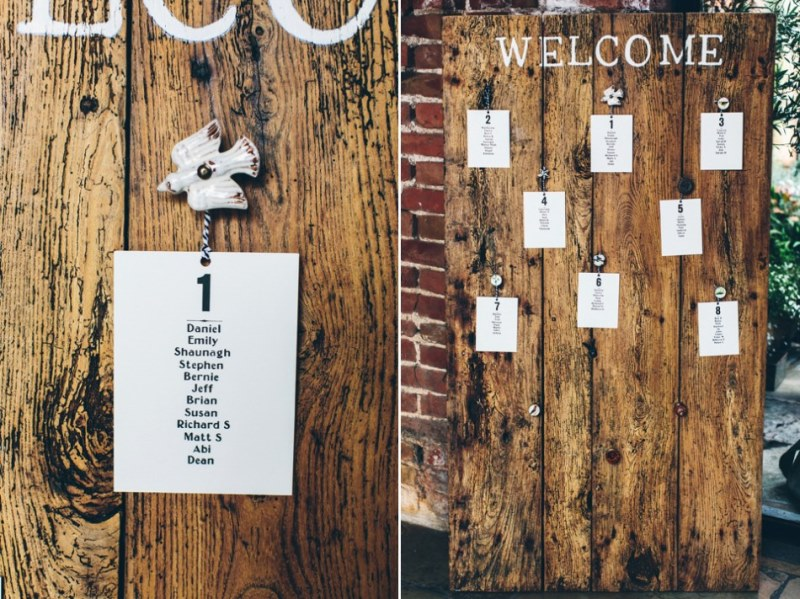 Picture Of rustic glam english country barn wedding  18