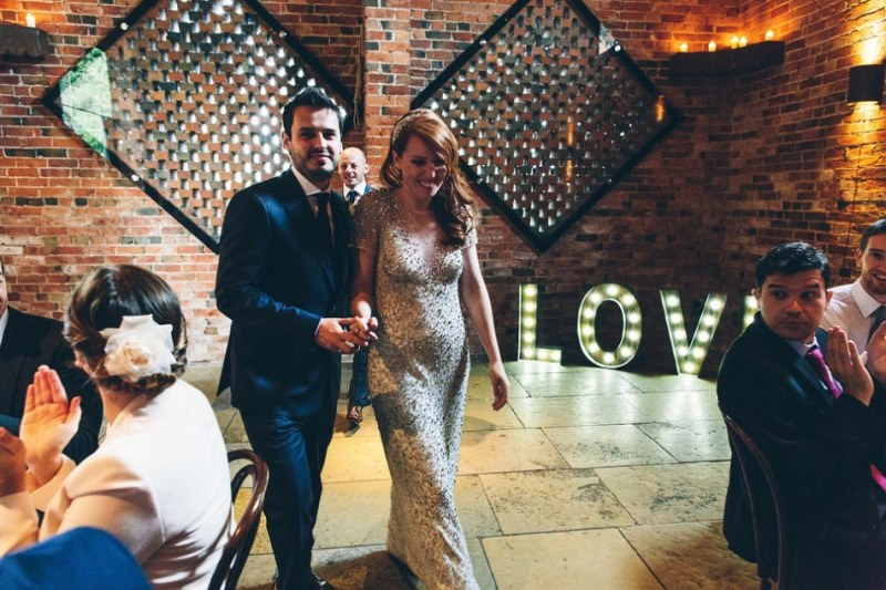 Picture Of rustic glam english country barn wedding  19
