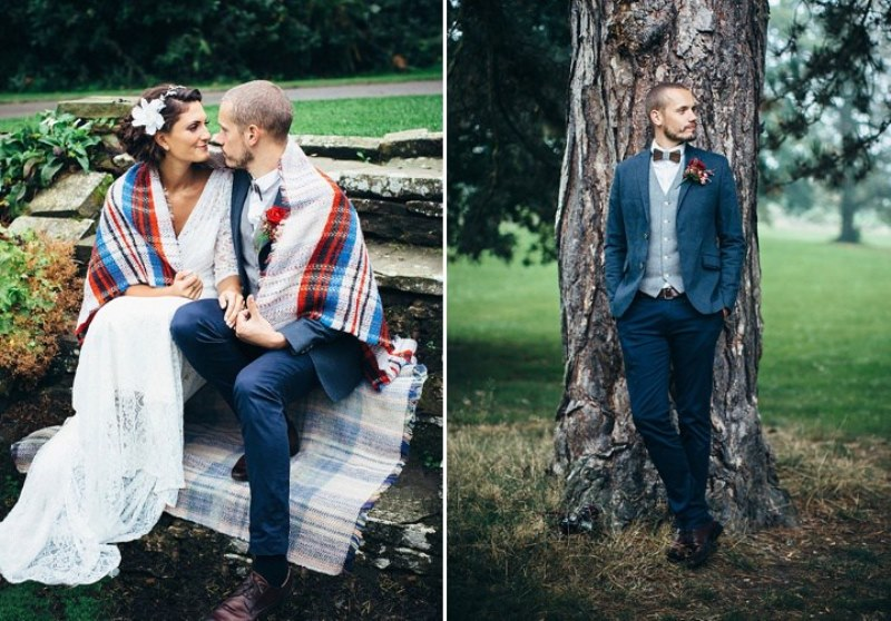 Picture Of rustic vintage english country garden wedding  16