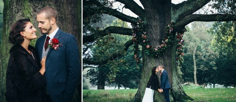 Picture Of rustic vintage english country garden wedding  20
