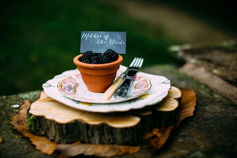 Picture Of rustic vintage english country garden wedding  24