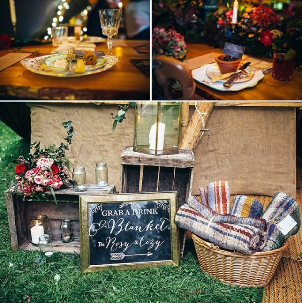 English Garden Wedding Ideas: Rustic Vintage English Country Garden Wedding