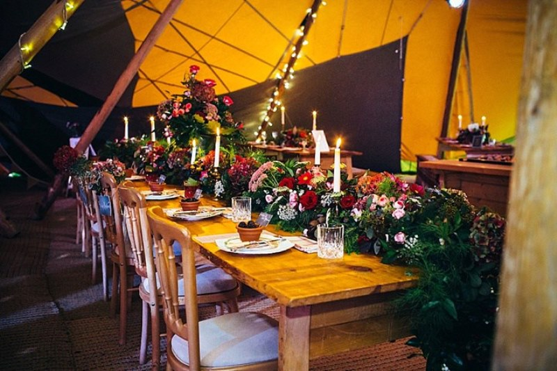 Picture Of rustic vintage english country garden wedding  26