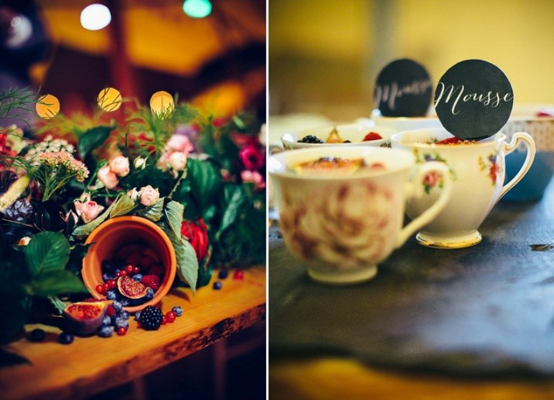 Picture Of rustic vintage english country garden wedding  27