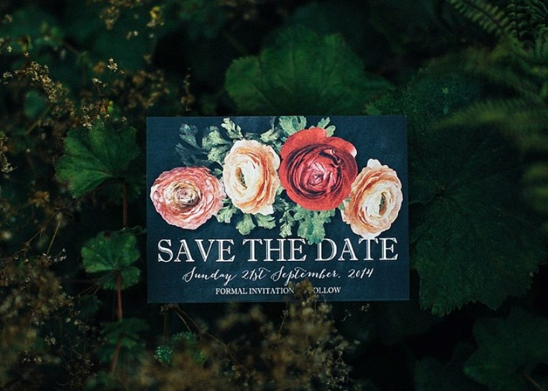 Picture Of rustic vintage english country garden wedding  7