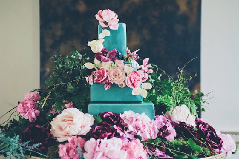 Picture Of sleeping beauty inspired wedding shoot with an insanely pretty floral installation  14