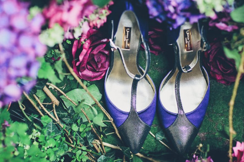 Picture Of sleeping beauty inspired wedding shoot with an insanely pretty floral installation  22