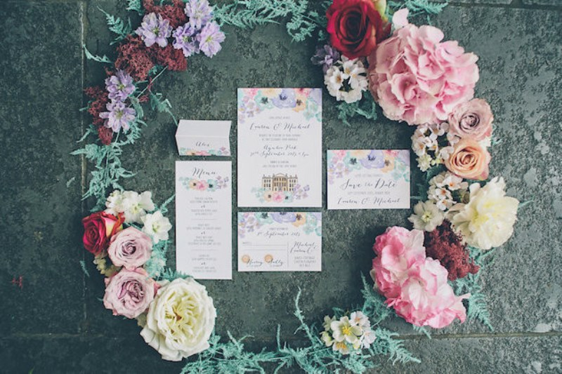 Picture Of sleeping beauty inspired wedding shoot with an insanely pretty floral installation  4