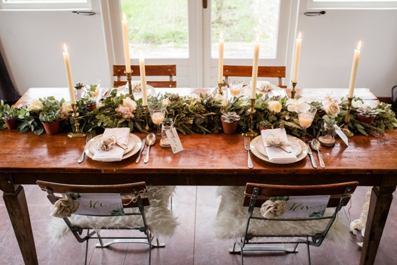 Picture Of soft and neutral rustic wedding shoot from netherlands  16