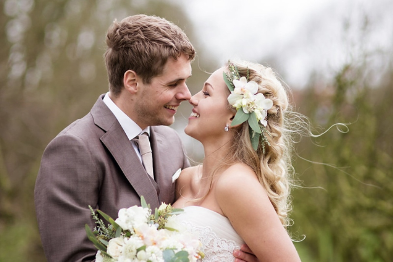 Picture Of soft and neutral rustic wedding shoot from netherlands  17