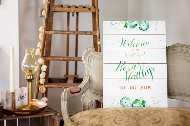 Picture Of soft and neutral rustic wedding shoot from netherlands  19