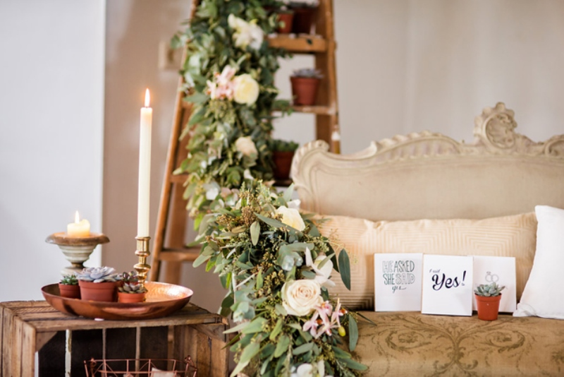 Picture Of soft and neutral rustic wedding shoot from netherlands  21