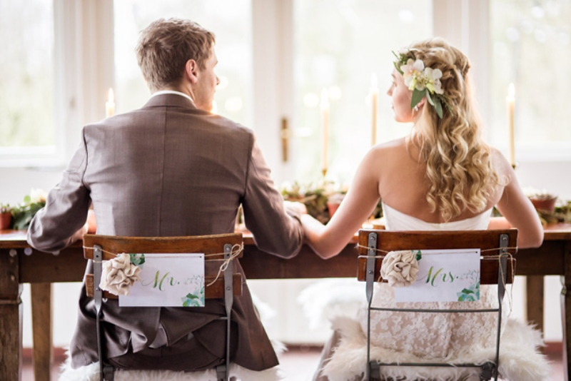 Picture Of soft and neutral rustic wedding shoot from netherlands  27