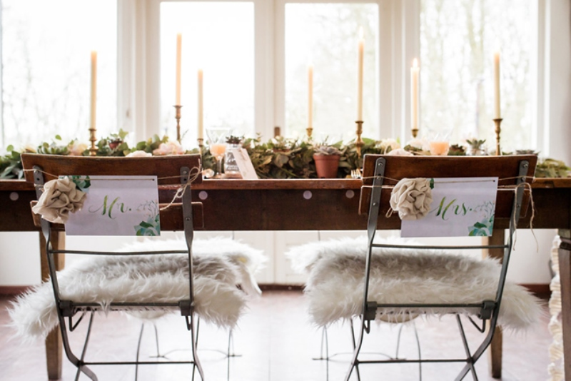 Picture Of soft and neutral rustic wedding shoot from netherlands  8